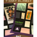 How to Make a T-Shirt Blanket: Day 1