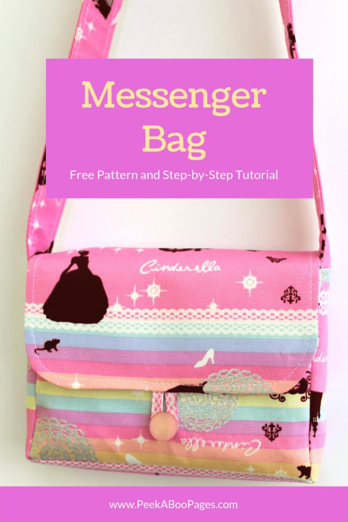 Messenger Bag Canva Image by Marci Debetaz