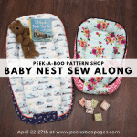 Baby Nest Sew Along