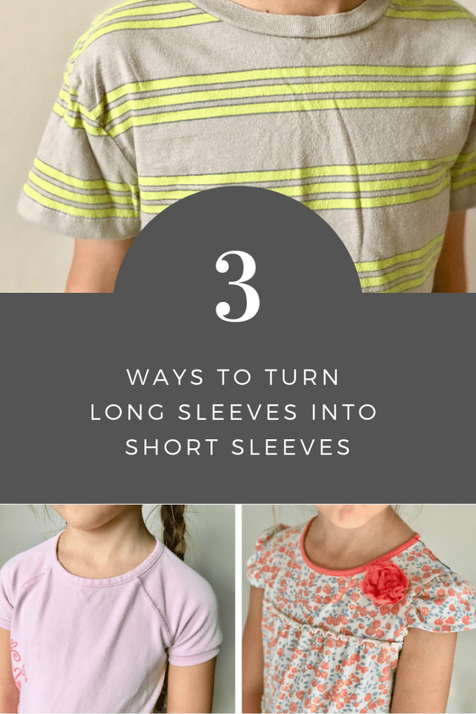 3 Ways To Turn Long Sleeves Into Short Sleeves Peek A Boo Pages