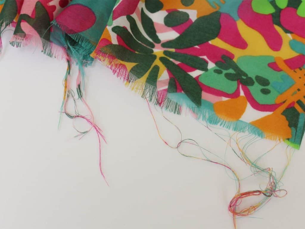 Prepping Fabric - Photo by Marci Debetaz