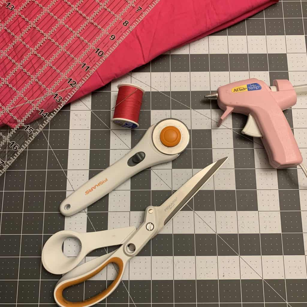 How to Make a Fabric Rosette